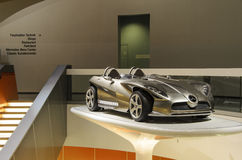 Mercedes sports car Royalty Free Stock Image