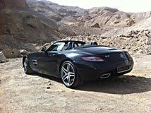 Mercedes sports in Eilat Stock Photo