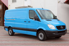 Mercedes Sprinter 313 CDI 2009 blue Stock Image