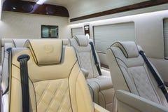 Mercedes Sprinter Limousine Stock Foto's