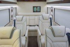 Mercedes Sprinter Limousine Stock Afbeeldingen