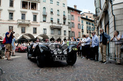 Mercedes SSK at Mille Miglia 2015 Stock Photography