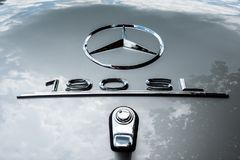 Mercedes 190 SL Star stock photo