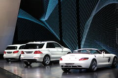 Mercedes su 64rd IAA Immagine Stock