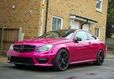 Mercedes-super sportscar van Benz hoge prestaties Royalty-vrije Stock Afbeeldingen