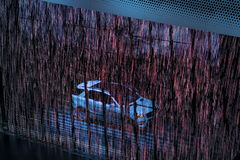 Mercedes sur 64rd IAA Images libres de droits