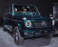 Mercedes 2019 SUV classe de la g, NAIAS Photographie stock libre de droits