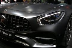 Mercedes Vehicle 2018 nova na exposição na feira automóvel internacional norte-americana Imagem de Stock Royalty Free