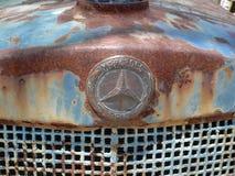 Mercedes versinnbildlichen Stockfoto