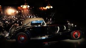 Mercedes Vintage-auto Stock Afbeelding