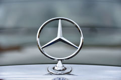 Mercedes vintage car sign from Germany Royalty Free Stock Photo