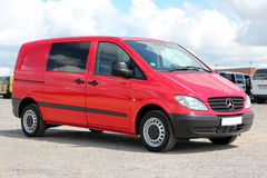Mercedes Vito 111 CDI 2009 red. Klima Royalty Free Stock Photography