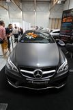 Mercedes zeigte an der 3. Ausgabe von MOTO-ZEIGUNG in Krakau an polen Stockfotos