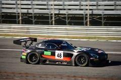 Mercedez AMG GT3 bieżny samochód przy Monza Zdjęcia Royalty Free