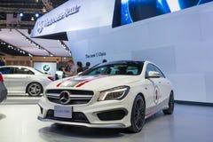 Mercedez Benz CLA 45 AMG na pokazie Zdjęcia Stock
