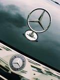 Mercedez Benz logotyp Fotografia Stock