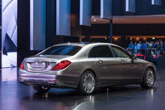 Mercedez Benz Maybach przy IAA 2015 Obrazy Stock