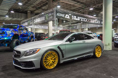 Mercedez Benz nastrajanie Zdjęcia Stock