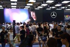 Mercedez benz pavilionï ¼ Œ17th Chengdu Motorowy przedstawienie Zdjęcia Stock
