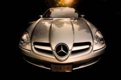 Mercedez Benz SLK350 zdjęcia stock