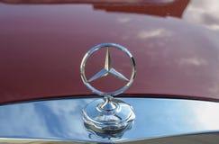 Mercedez benz znak Zdjęcie Royalty Free