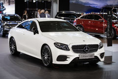 Mercedez E Klasa Coupe Obraz Stock