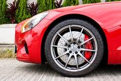 Mercedez GT S 2015 koła projekt Obrazy Royalty Free