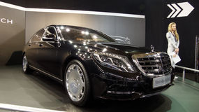 Mercedez Maybach obrazy royalty free