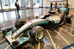 Mercedez Petronas Motorsport F1 2018 Obrazy Royalty Free
