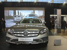 Mercedez przy Belgrade car show Fotografia Stock