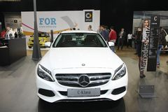 Mercedez przy Belgrade car show Obraz Stock