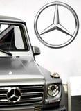 Mercedez samochód Obraz Royalty Free