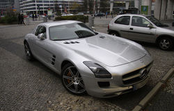 Mercedez SLS Obrazy Royalty Free