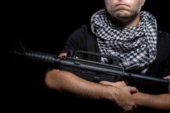 Mercenaire militaire privé d'entrepreneur photographie stock libre de droits