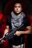Mercenaire Soldier de Private Military Company photographie stock libre de droits