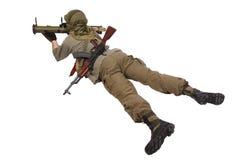 Mercenary with anti-tank rocket launcher - RPG Stock Photos