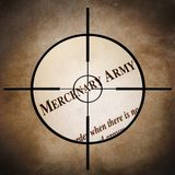 Mercenary army Stock Photography