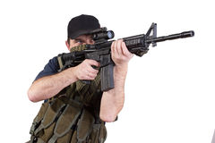 Mercenary - private security contractor Royalty Free Stock Image