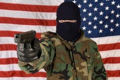 Mercenary protection Stock Image