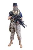 Mercenary - soldier of fortune Stock Photography