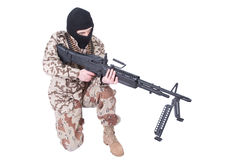 Mercenary - soldier of fortune Stock Images