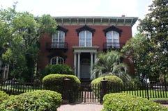 Mercer Williams House Museum in Savannah, Georgia Royalty Free Stock Image