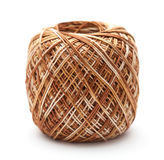 Mercerised cotton crochet yarn Royalty Free Stock Image