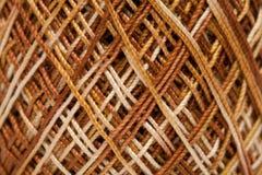 Mercerised cotton crochet yarn Royalty Free Stock Images