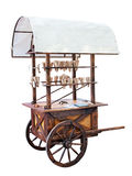 Merchandise cart Stock Image