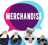 Merchandise Marketing Commercial Shopping Retail Concept Royalty Free Stock Images