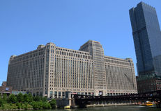 Merchandise Mart Building in Chicago Stock Image