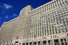 Merchandise Mart in Chicago. The Merchandise Mart in downtown Chicago, a building for custom designers royalty free stock photo