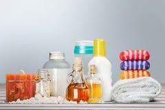 Merchandise. Care human skin spa treatment individuality beauty health spa Stock Photos