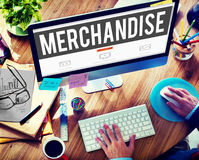 Merchandise Product Marketing ConsumerSell Concept Royalty Free Stock Images